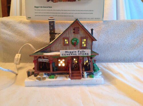 """Dept. 56 presents """"Moggin Falls General Store"""". Light Box"""