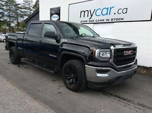 2016 GMC Sierra 1500 BLACKED OUT ALLOYS, RUNNING BOARDS, BACK...