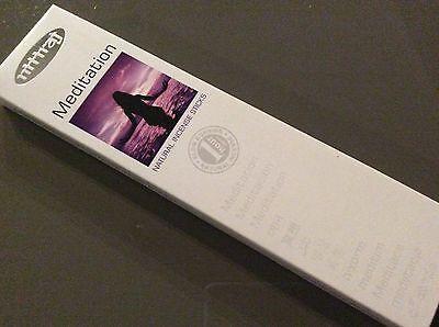 MEDITATION INCENSE STICKS 25g Box Nitiraj Platinum Natural Fair Trade Premium