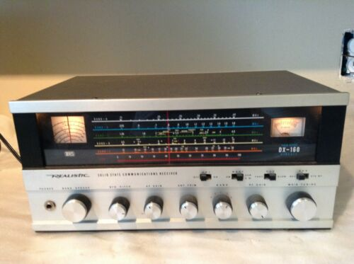 Realistic Model DX-160 Solid State Communications Receiver