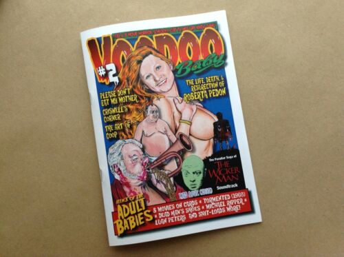 VOODOO BABY ISSUE 2. ROBERTA PEDON, THE WICKER MAN, MICHAEL RIPPER, LUAN PETERS
