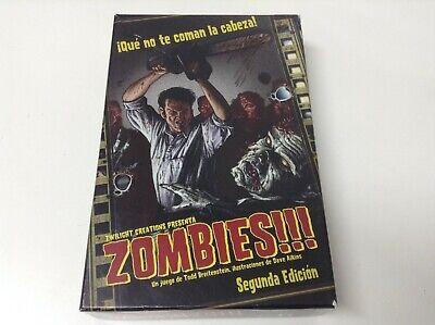 ZOMBIES!!! ¡QUE NO TE COMAN LA CABEZA! . TWILIGHT CREATIONS . JUEGO...