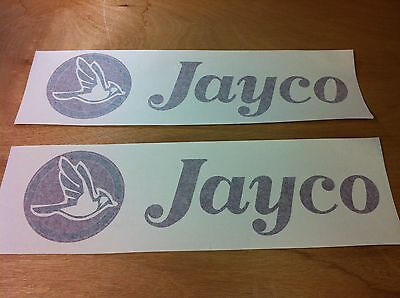 2- Jayco Decals large popup RV sticker decal graphic pop up camper stickers logo