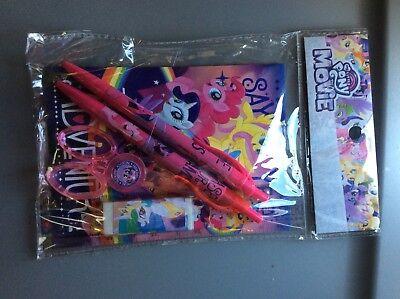 My Little Pony School Supplies (My Little Pony the Movie school supply kit)
