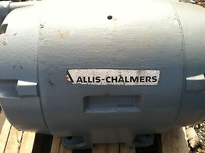 Used Allis Chalmers 150 Hp Electric Induction Motor Type Rg 440v