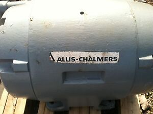 Used Allis Chalmers 150 Hp Electric Induction Motor Type