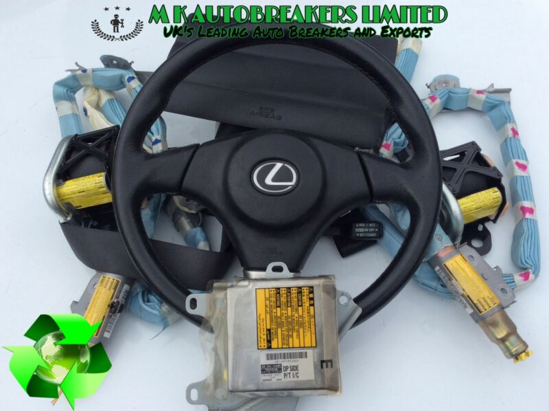 Lexus IS200 model From 99-05 Complete airbag kit (Breaking for Parts)