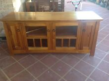 Timber Lowline TV Cabinet. Rosemeadow Campbelltown Area Preview