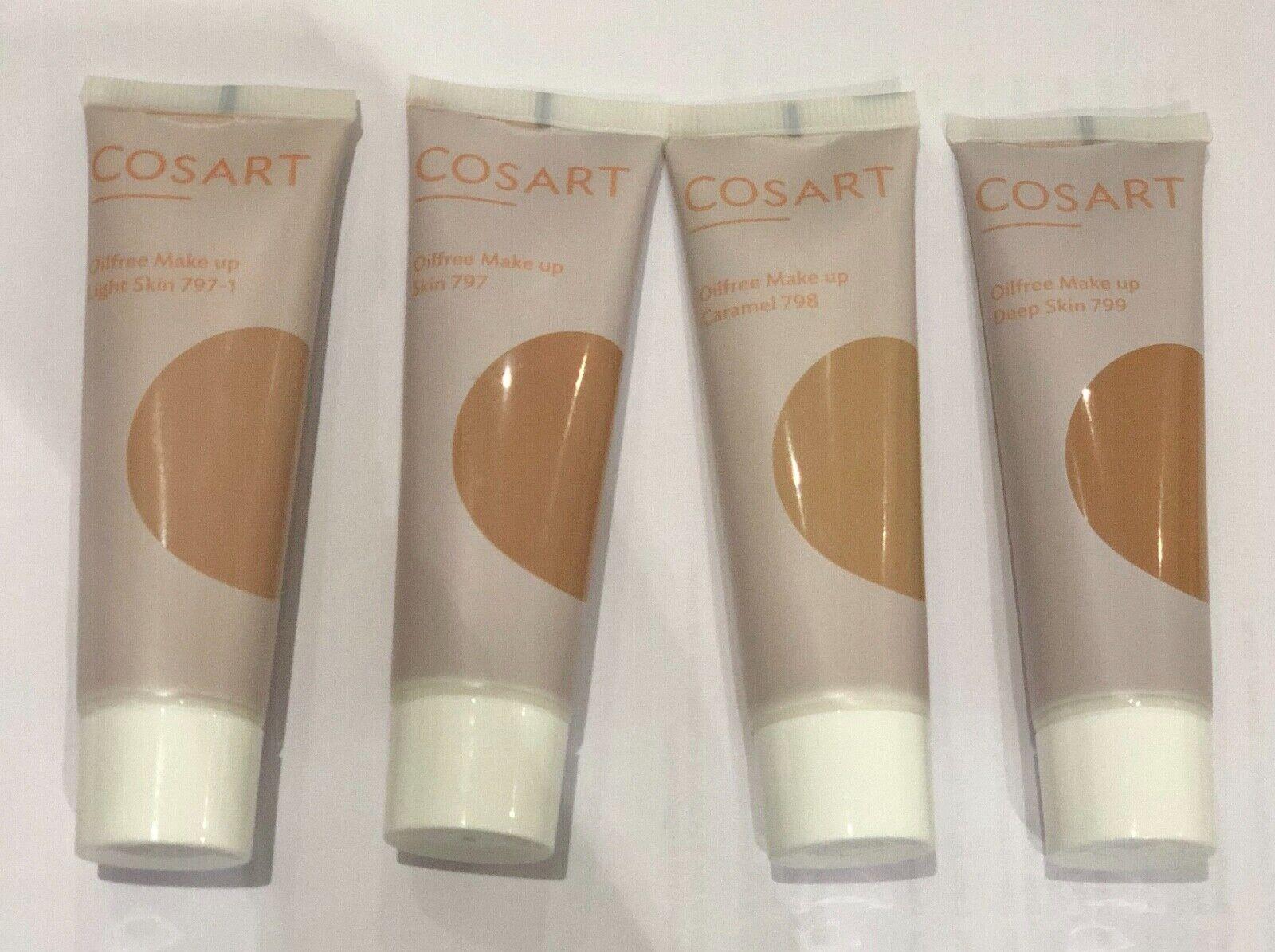 Cosart Oilfree Make Up, Ölfreies Make Up, 30ml - verschiedene Farben
