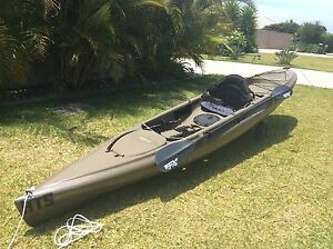 TWO (2) HOBIE QUEST 13' Paddle Kayaks Moonee Beach Coffs Harbour City Preview