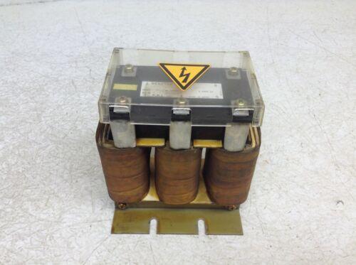 GE Fanuc A81L-0001-0123-02 Line Reactor 0.2 mH 75 Amp A81L0001012302