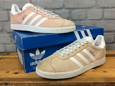 Details about Adidas Gazelle C Little Kid's Shoes Ice PinkWhiteGold by9548 Size US 12k & 2