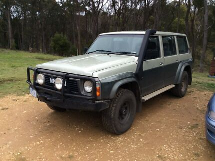 Nissan patrol gq wagon 1991 Snake Valley Pyrenees Area Preview