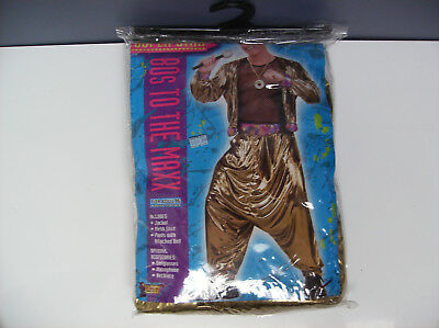 1980s Costumes For Men (1980'S TO THE MAX SINGER VIDEO STAR MEN HALLOWEEN COSTUME ONE)