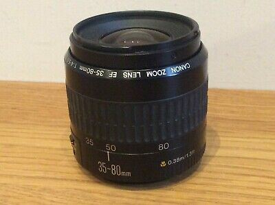 Canon Zoom Lens EF 35-80mm Available Worldwide