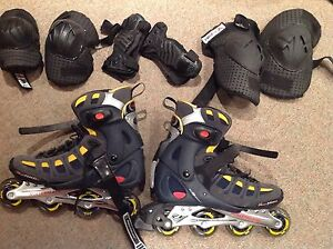 Men's Rollerblade Brand Core XTV and Pads