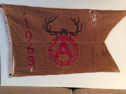 Boy Scout Camp Accreditation Pennant - 1963