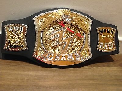 2005 WWE SPINNER WORLD HEAVYWEIGHT WRESTLING Champion Belt kid Toy orton Cena dx