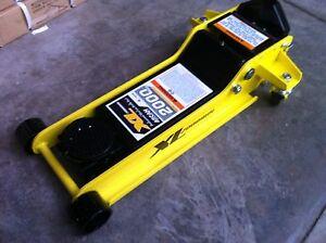 Arcan 2 Ton Trolley jack Low Profile Heavy Duty Steel Garage Floor Alloy New