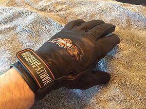Harley Davidson Goat Hide Gloves Size M