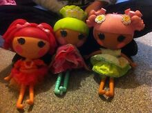 $10 for 3 x La La Loopsy Dolls Palm Beach Gold Coast South Preview