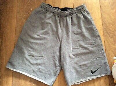 Nike Mens Jogging/Fitness Dri-fit Shorts - Medium (Marl Grey)
