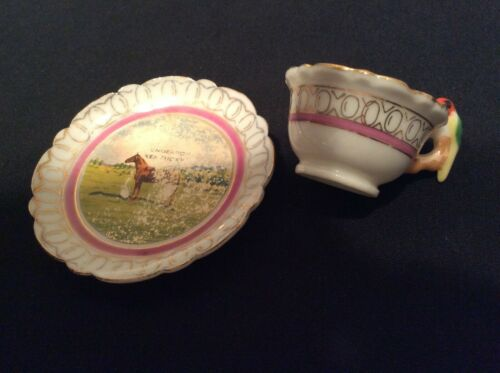 Vintage mini cup and saucer, Kentucky