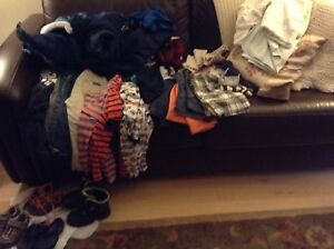 Boys size 3 clothing/Footwear