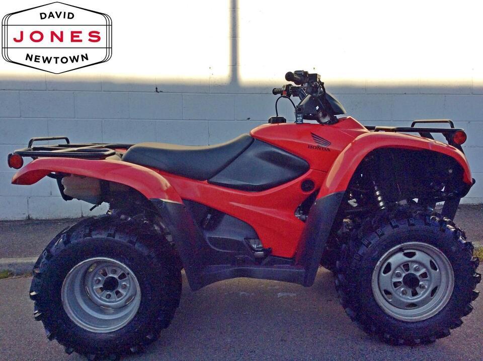 2011 HONDA TRX420 FM FOURTRAX 4x4 QUAD ATV FOUR WHEELER
