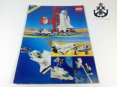 Lego Vintage Classic Town NASA Space Shuttle Instructions For Set 1682-1