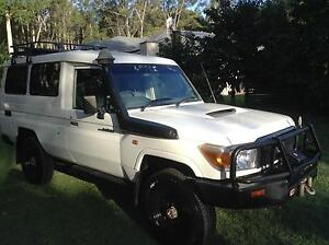 "TOYOTA Land Cruiser VDG78R ""Workmate - Troopcarrier"" 2007 $30 000 Tewantin Noosa Area Preview"