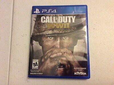 Call Of Duty  Wwii Ww2  Sony Playstation 4  2017  Ps4