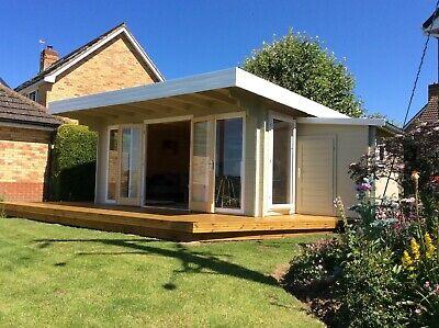 Log Cabin/ Garden Office / Summer house / 4.5m x 3.5m ,...