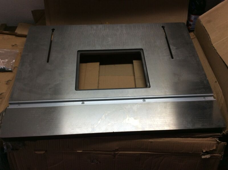 Machined Cast Iron Router Table Top with Mounting Screws - LOCAL PICKUP ONLY.