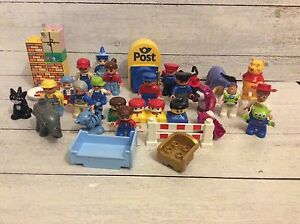 Big Lot of Lego Duplo Figures and More!
