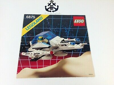 Lego Vintage Futuron Space Hovercraft Instructions For Set 6875-1