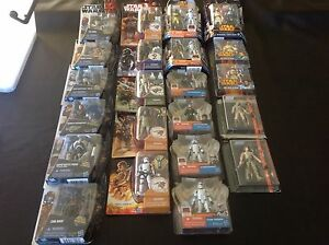 22 Star Wars Figures. Canning Vale Canning Area Preview