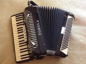 Piano Accordion Sonola AA3 compact size professional instrument Crafers West Adelaide Hills Preview