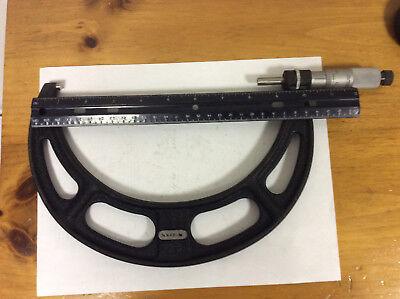 Used Starrett 436rl-8 Outside Micrometer 7-8 Range Part Number 51712