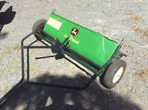 John Deere tow behind brush