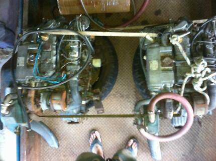 2 Yanmar 3 cylinder Turbo Diesel Marine Engines and Boxes Biggera Waters Gold Coast City Preview