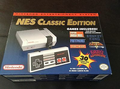 New Nintendo NES Classic Edition Mini Console with 30 Games Fast Shipping