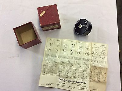 Vintage General Radio Co. Potentiometer Type 975-l 2000 Ohms Unused In Box