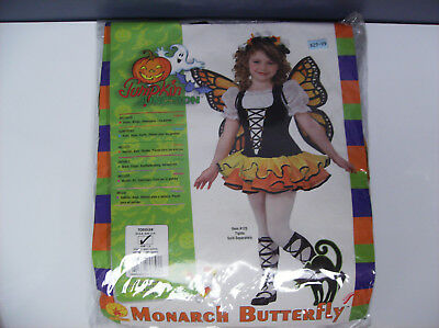 MONARCH BUTTERFLY TODDLER HALLOWEEN COSTUME SIZE 2-4 - Monarch Butterfly Toddler Halloween Costume