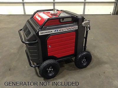 Honda Eu7000is Inverter Generator Allterrain 10 Pneumatic Wheel Kit New