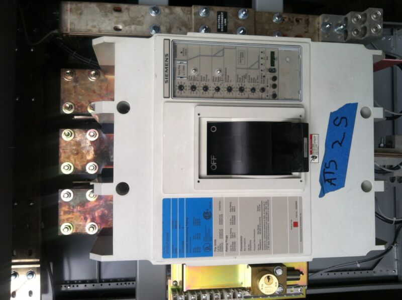 Siemens Std63f200h With Std20tlsig 2000 Amp Tested With Warranty