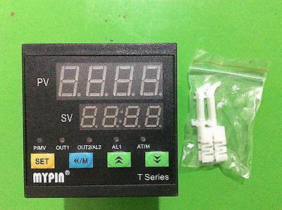 Dual Digital Fc 72wx72hx80l Pid Temperature Controller Ta7-ssr Pt100 Sensor