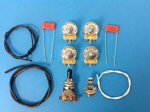 guitar parts les paul wiring kit short shaft for epiphone. Black Bedroom Furniture Sets. Home Design Ideas