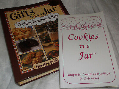 Cookie Mix recipe books mix and bake GIFT JAR brownies bars  Gift Jar Cookie Recipes