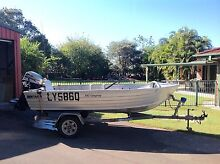 3.9m tinnie boat 25hp mariner, excellent condition. Cash or swap. Beachmere Caboolture Area Preview